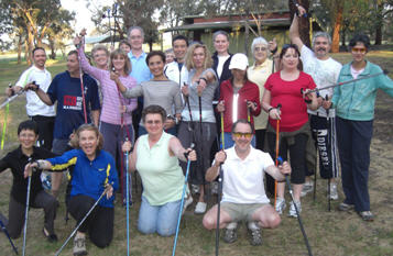Nordic Walking at Walktober 08